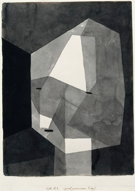 Klee, Paul: Rough-Cut Head. Fine Art Print/Poster (5009)